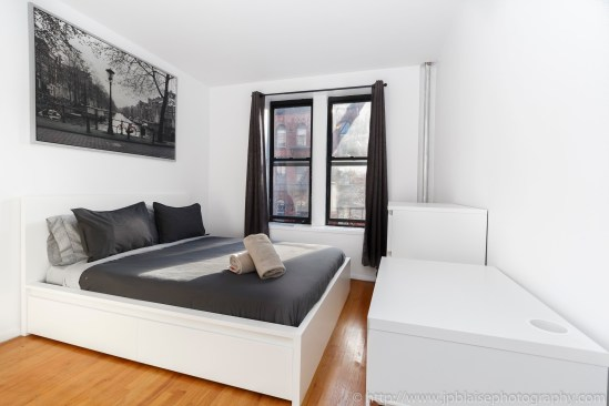 Upper West Side apartment photography real estate interior New York bedroom