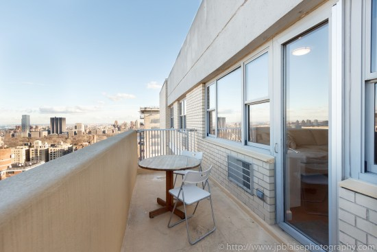apartment photographer new york nyc one bedroom with terrace upper west side manhattan balcony