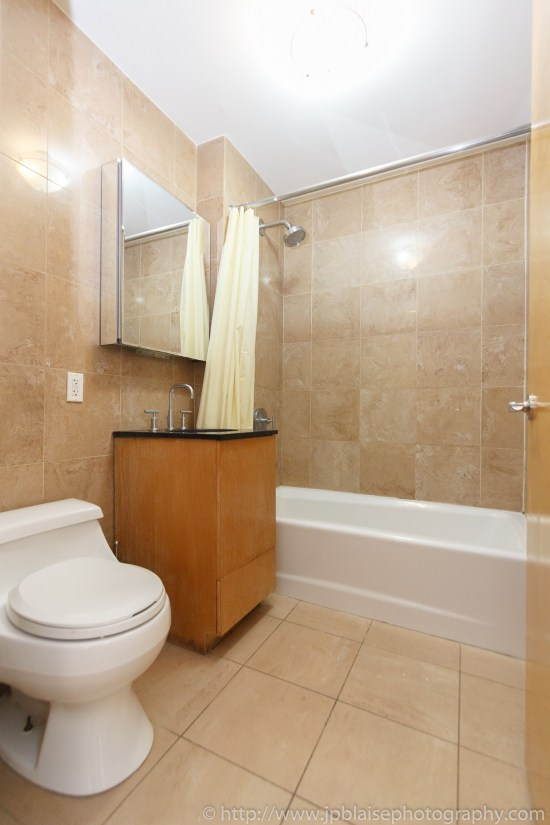 apartment photographer one bedroom new york city east village real estate interior bathroom