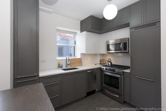 new york city apartment photographer midtown west kitchen