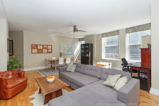 ny apartment photographer 3 bedroom brooklyn heights new york real estate interior living room