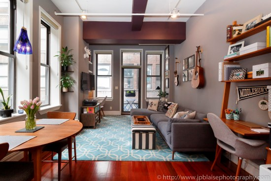 ny apartment photographer nyc real estate new york Manhattan Murray Hill living room