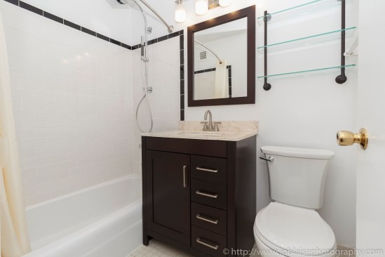 ny nyc apartment photographer interior west village two bedroom bathroom