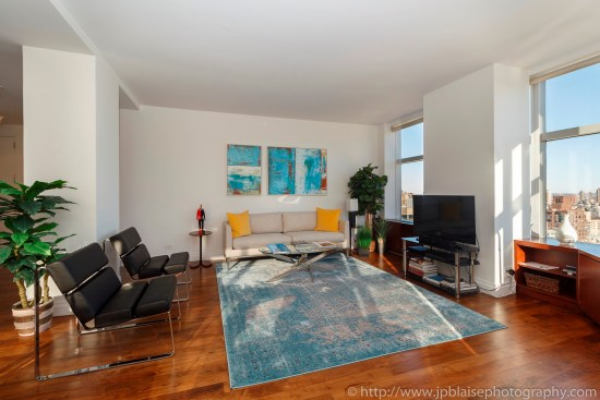 nyc apartment photographer lincoln square two bedroom real estate interior photo ny new york living