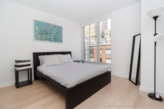 nyc real estate photographer apartment interior photo midtown manhattan bedroom