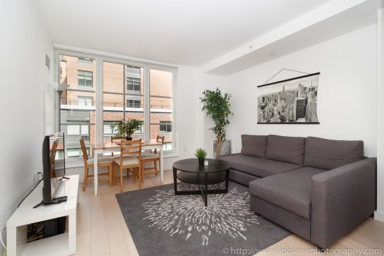 nyc real estate photographer apartment interior photo midtown manhattan living room