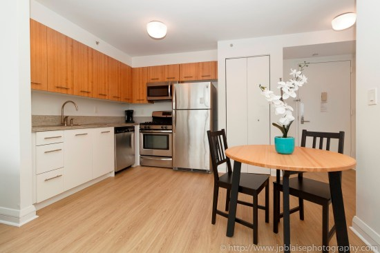 real estate photographer apartment interior midtown west photography kitchen