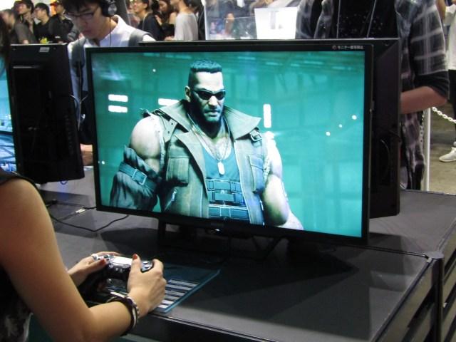 Final Fantasy VII Remake at TGS 2019 - Barret Wallace