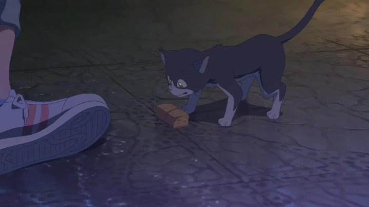 Hodaka Feeding Cat Tenki No Ko