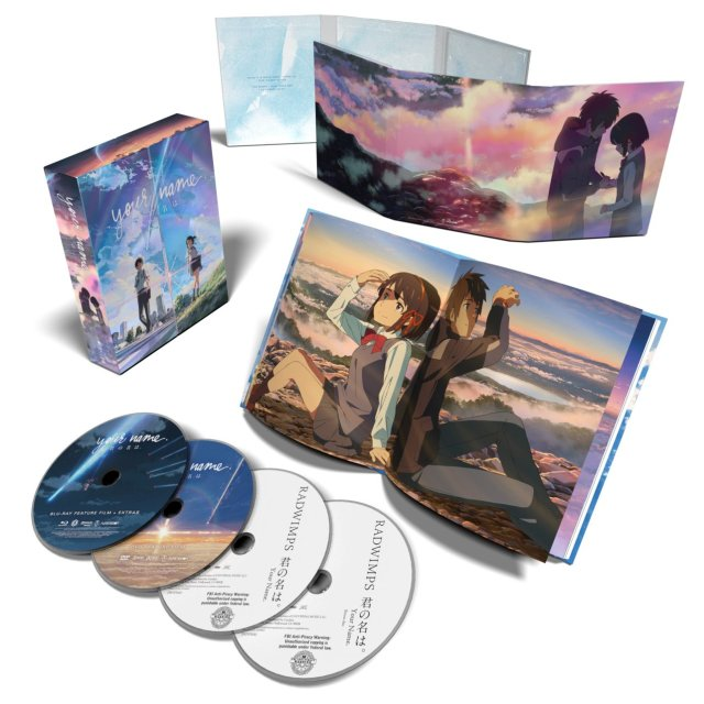 your name collector's edition box set