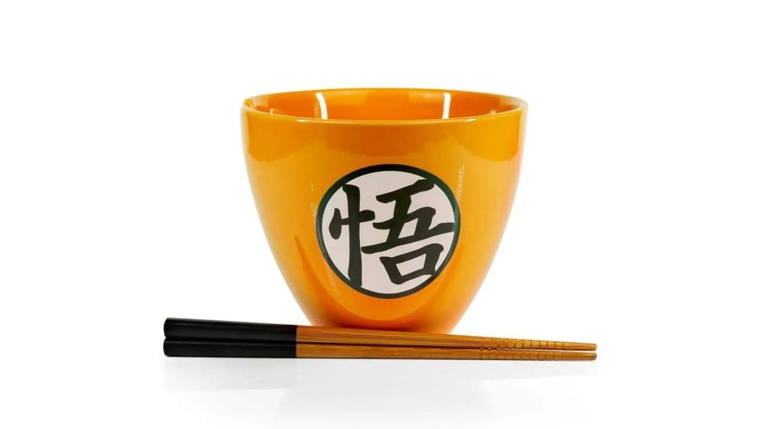 anime gift ideas dragon ball z themed bowl