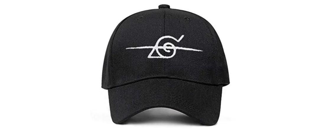 naruto hat black white