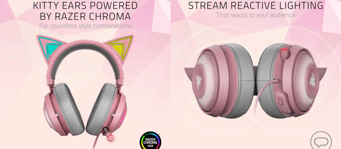 anime gifts for her cat headphones
