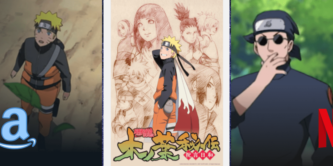 places to watch naruto shippuden online