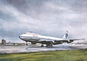 John T McCoy First 747
