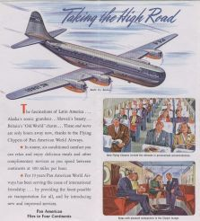 1946 Artist rendition of future B377 Stratocruiser everythingpanam