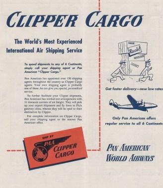 1948 4-1-48 Clipper Cargo Ad