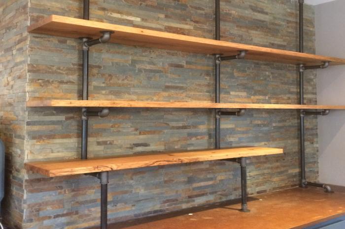etageres bois et metal jp briand