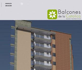 Balcones de la Católica web