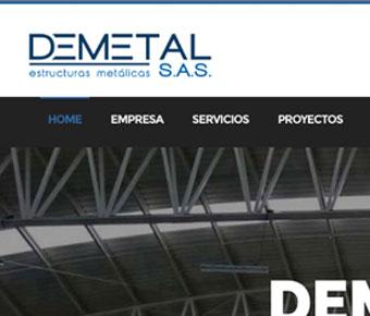 Demetal web