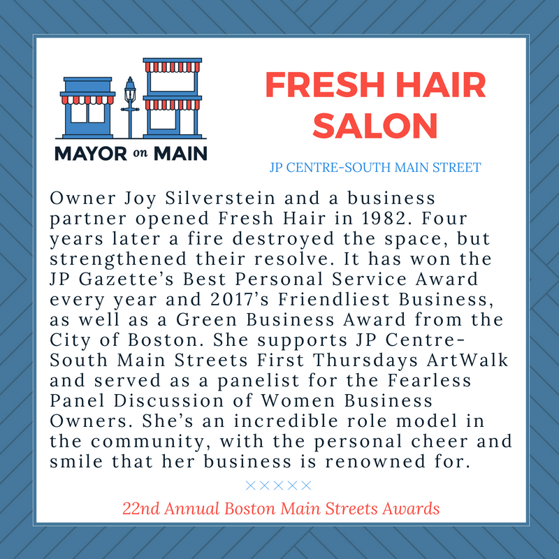 Business of the Year Fresh Hair