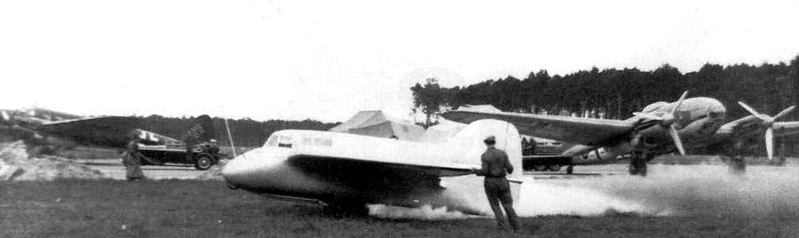 """Le DFS-194 une """"semi-aile volante"""" à moteur fusée"""