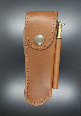 Etui cuir 11/12cm+mini fusil