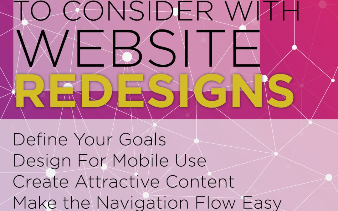 5 Things To Consider With Website Redesigns
