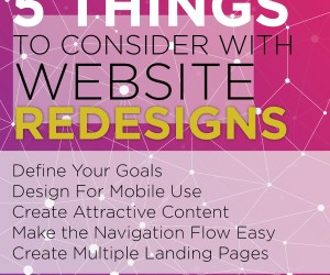 5 Things to consider with a website redesign
