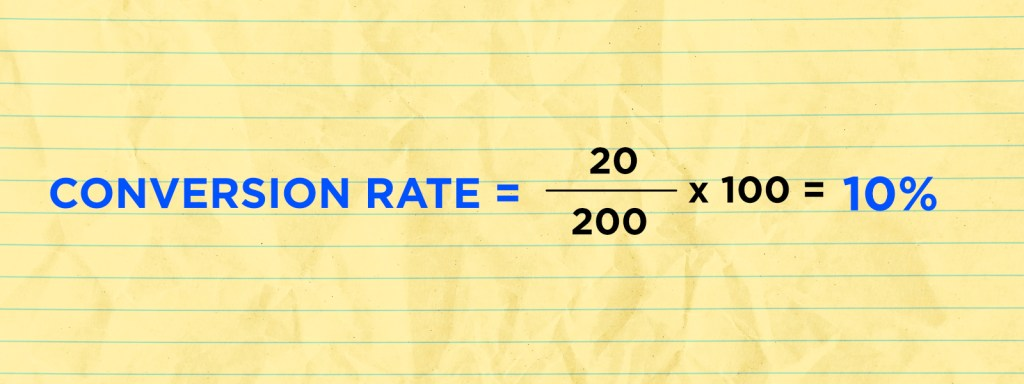 Conversion Rate Graphic