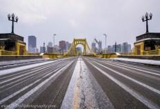 Life Snow Lane Pittsburgh Clemente Bridge Winter c web srgb
