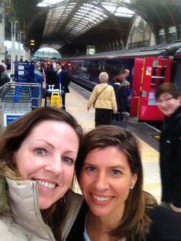 Welcome to Paddington Station! Evidently Harry Potter was just catching his train behind us.
