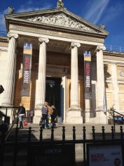 The Ashmolean Museum founded in 1683 and the first public museum in England.