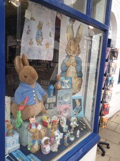 An entire store dedicated to Peter Rabbit.