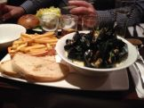 A Belgian bar calls for Moules Frites.