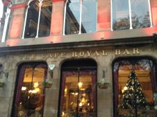 And speaking of loyal, the Cafe Royal became our regular pub. Time for a Kelburn and chat with the world's kindest people.