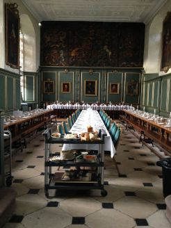 I got a Pepys at the Magdalen dining hall set up for a wedding. Anyone want to lay wages whether I crashed it?
