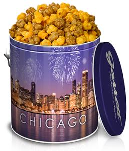 シカゴ スカイライン缶