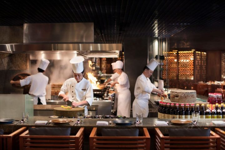 Grand Hyatt Singapore - mezza9 - Live Kitchen