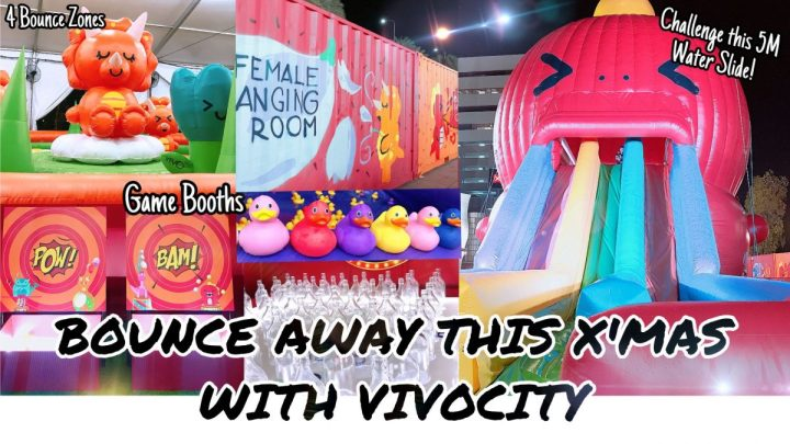 Bounce Away This X'MAS with VivoCity