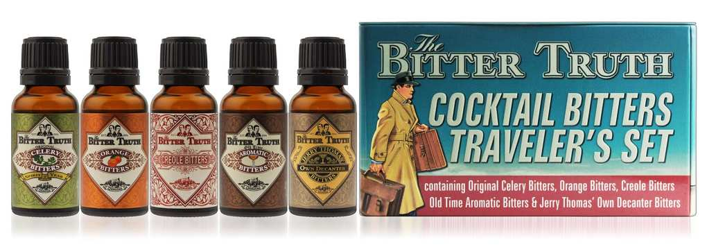 The Bitter Truth Cocktail Bitters Traveler's Set, £15.75