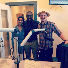 David with Imani and Bryan