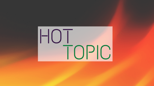 Fiery image, Hot Topic