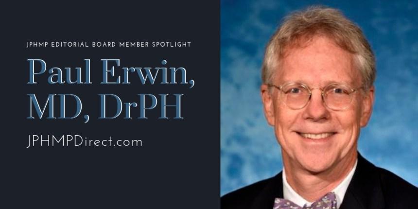 Paul Erwin spotlight