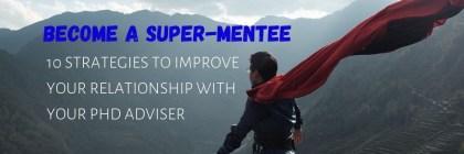 Become a Super-Mentee