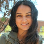 """""""I hope that my research will motivate legislators to improve school-level vaccination policy in Arizona and the United States. Ultimately, I hope this work will reduce growing vaccine hesitancy across the country so that all people can live safer, healthier lives."""" Pooja Sangha, Arizona State University Class of 2019"""