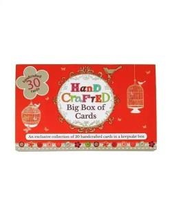 Handcrafted Cards - Birdcage Design (30 Card Set)