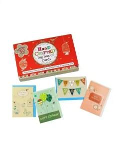 Handcrafted Cards - Birdcage Design (Displayed)