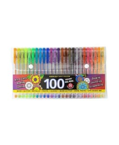 100 Gel Pens - With 8 Dazzling Effects