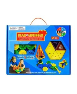 Gear Engineer Magnetic Building Set